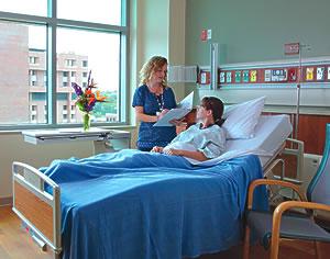 Shands Hospital room