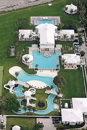 Celine Dion's estate on Jupiter Island