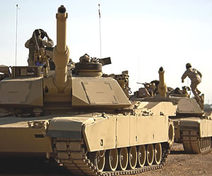 M1A2 Abrams Tank