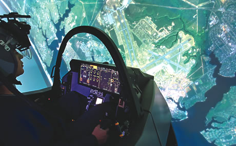 F-35 Lightning II simulator