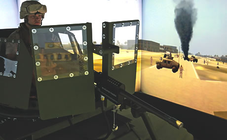 Combat Convoy Simulator