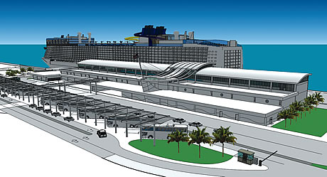 Port Canaveral Rendering