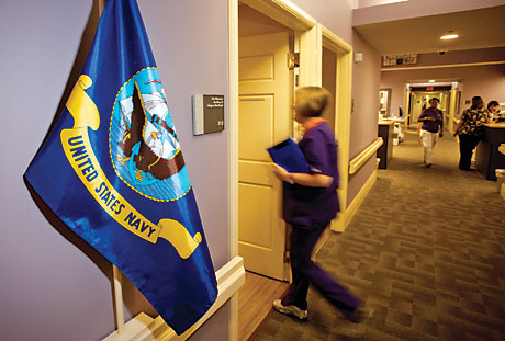 Community Hospice of Northeast Florida - military flag