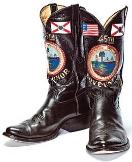 Gov. Scott's Boots