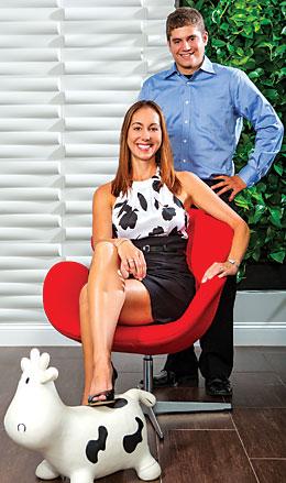 Leslie haywood & Miguel Pereira