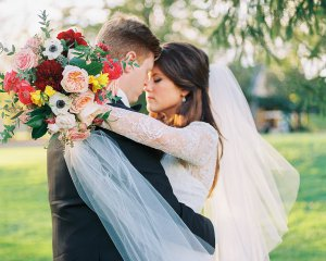 SLATE BLUE FALL WEDDING AT LOOKAWAY GOLF CLUB IN BUCKINGHAM, PA