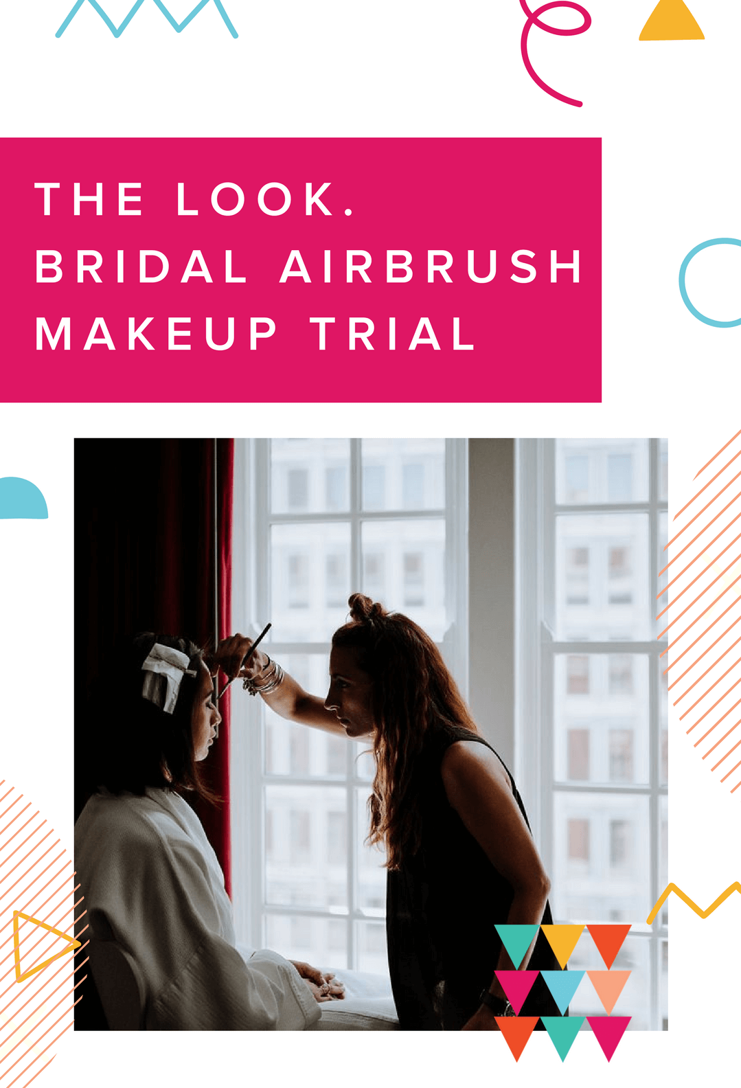 Prize - the look. Bridal airbrush makeup trial