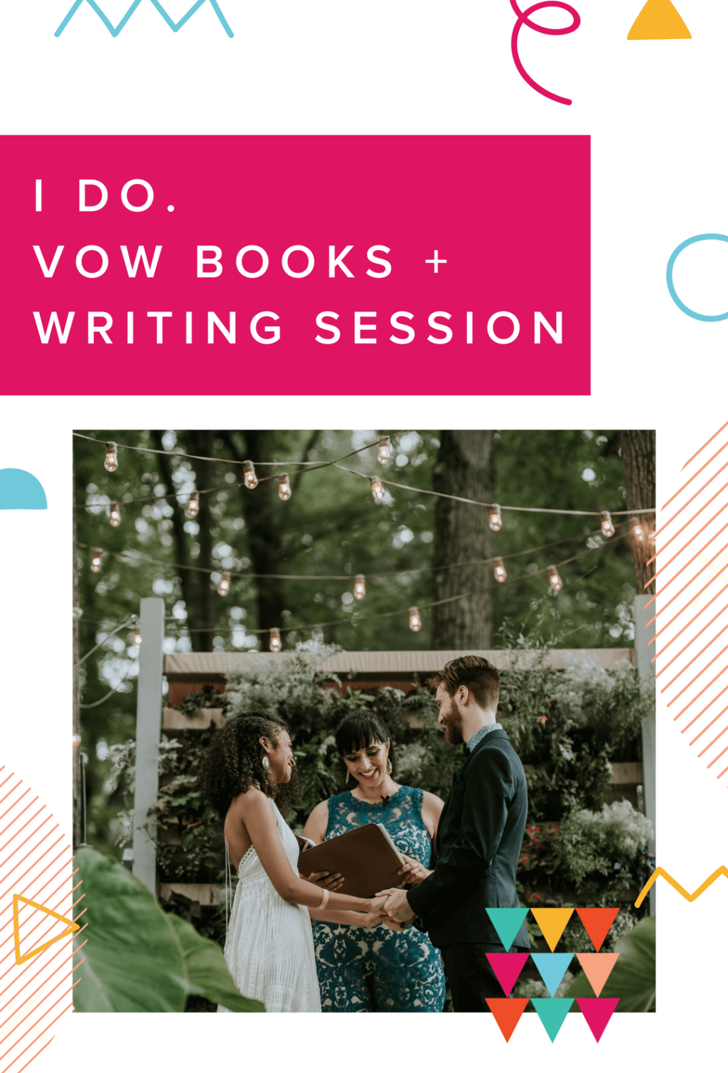 Prize - Vow Books and Writing Session