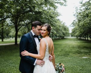 Sara and Greg's Horticulture Center Wedding