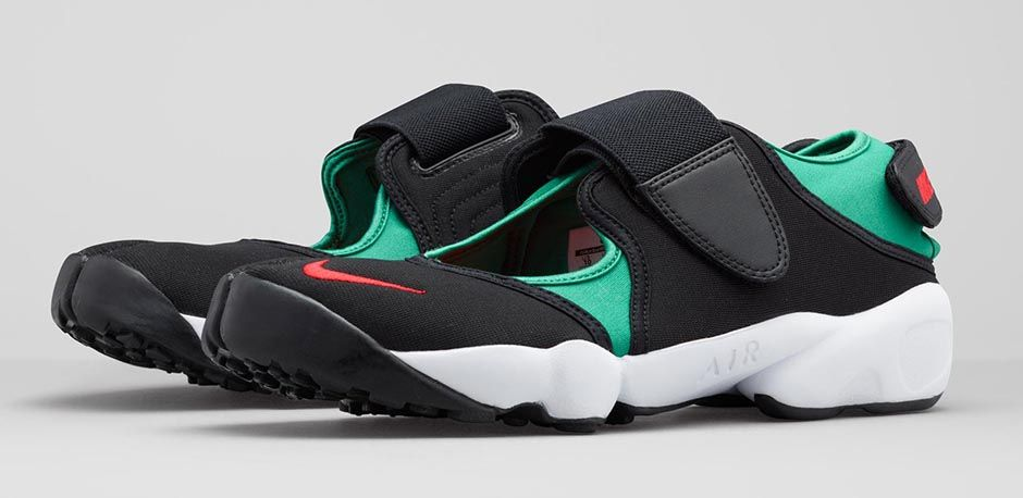 Nike Air Rift Black/Mint will be Rifting through stores May 4th