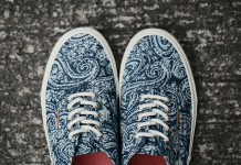 "Vans California 2013 Fall Authentic ""Paisley"" Pack 1"
