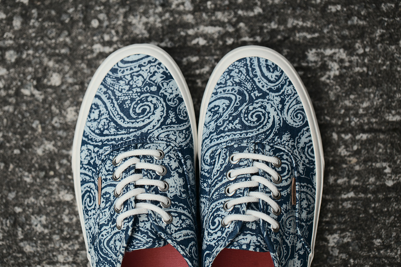 Vans California Fall 2013 Authentic Paisley Pack