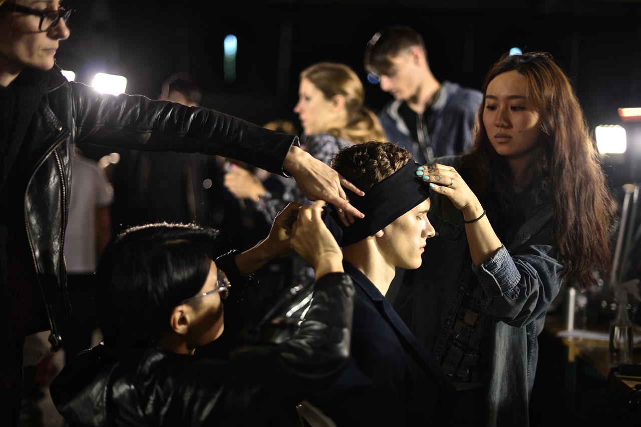 3.1 Phillip Lim Spring/Summer 2013 Backstage Visuals
