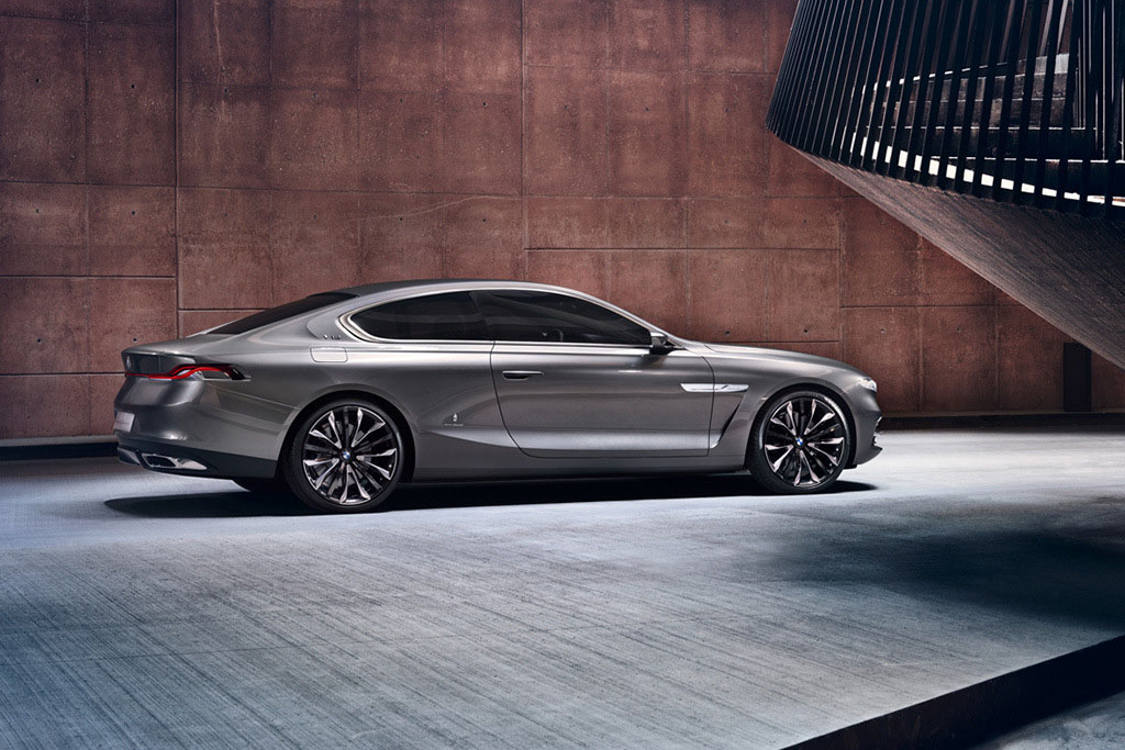 BMW Pininfarini Gran Lusso Coupe Right Side View