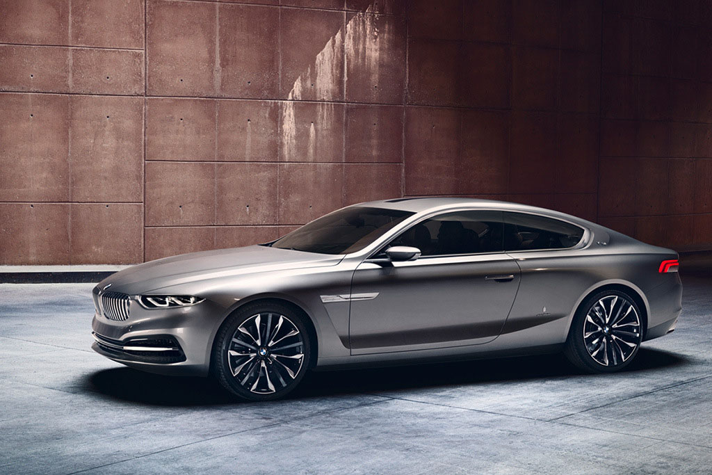 BMW Pininfarini Gran Lusso Coupe Left Side View