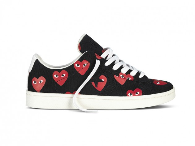 COMME des GARCONS PLAY for Converse Pro Leather Sneaker Collection