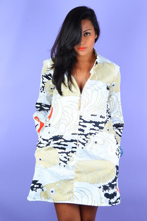 hippo-printed-mini-dress