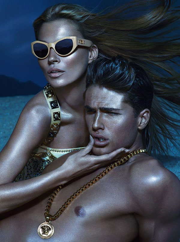 Versace Spring/Summer 2013 Eye-wear & Jewelry Campaign