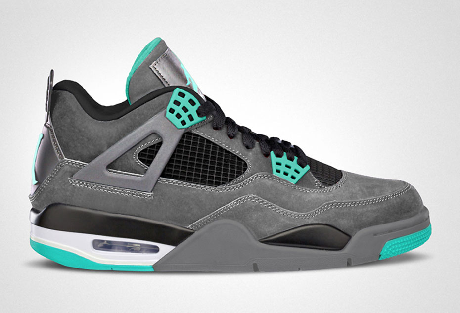 Air Jordan IV Retro Green Glow
