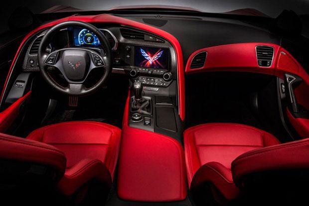 2014 chevrolet corvette stingray - Red Interior