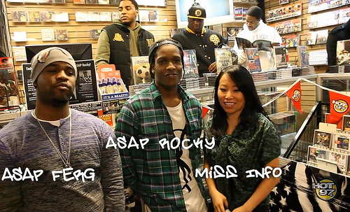 A$AP Rocky Speaks to Miss Info About His Amazing 2012