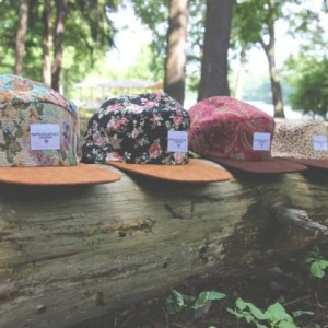 "Profound Aesthetic ""Beauty in the Wild"" 5 Panel Hat Collection"
