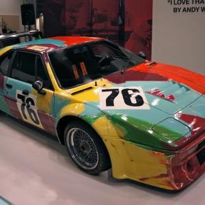 BMW Art Car x Andy Warhol