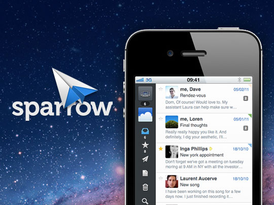 Sparrow - iPhone