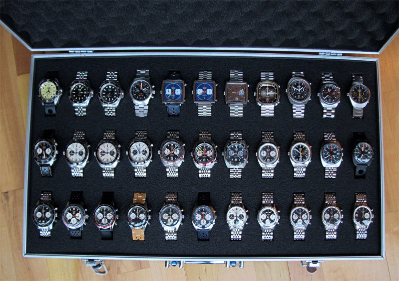 Vintage Heuer Madness with DIY Case