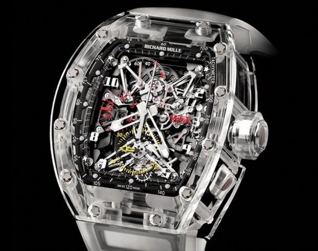 Richard Mille shows the future of Carbon Nanotube watches