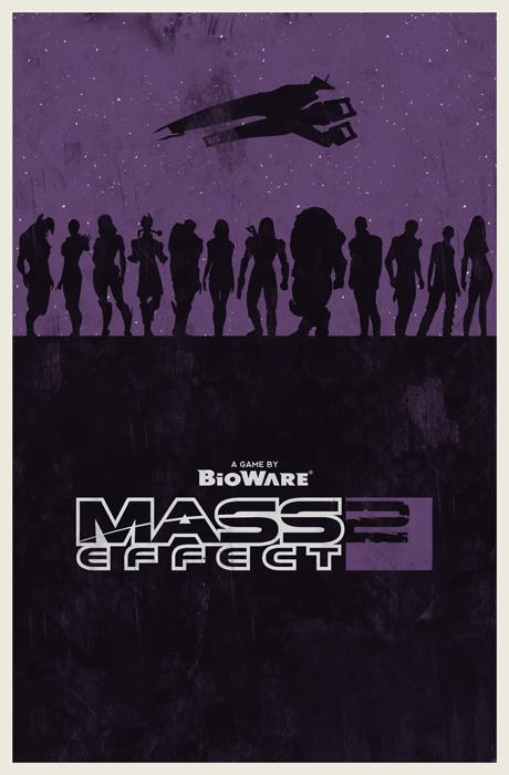 Mass Effect 2 poster.