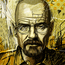 """Breaking Bad - Walter White"" Digital Painting"