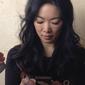 Jessica Yu, hard at work at Sundance '12