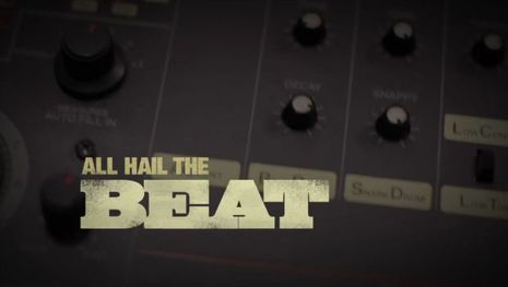 """All Hail The Beat,"" honors the Roland TR-808, a programmable drum machine that hit the market in 1984."