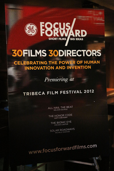 Focus Forward: Short Films, Big Ideas during Tribeca Film Festival. &#x000A;(Source: Astrid Stawiarz/Getty Images)