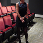 Solar Roadways director Michele Ohayon before the premiere of her film!