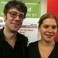 Damon Smith with IDFA's Laurien ten Houten