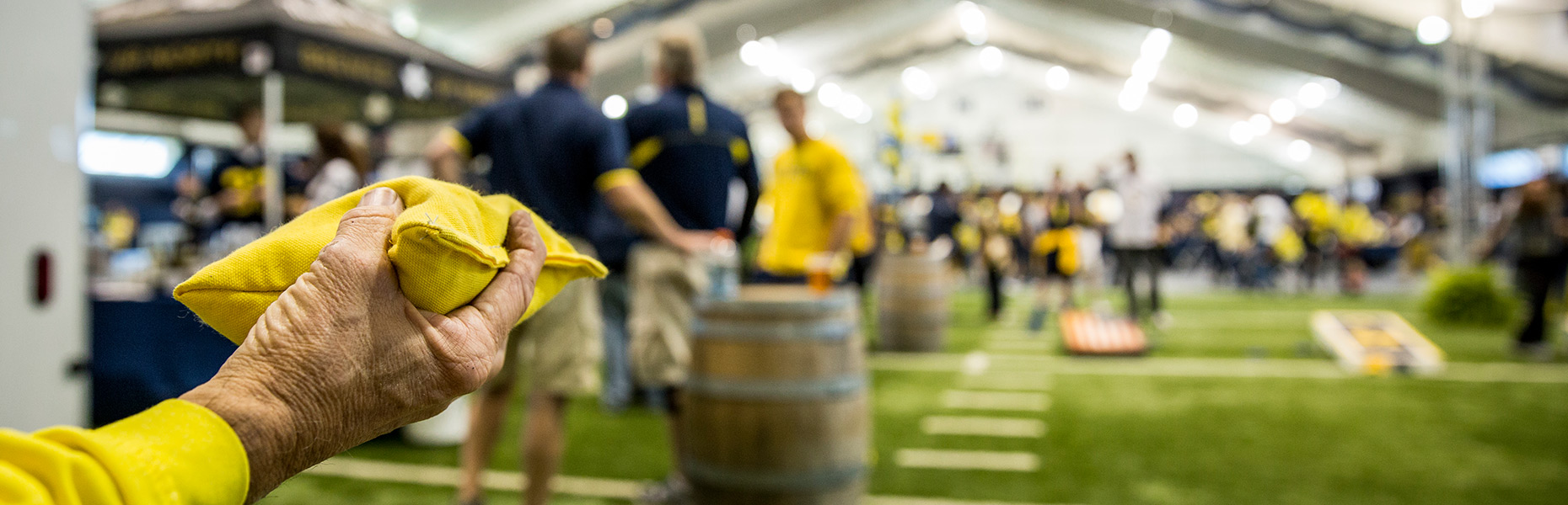 2016 Go Blue Homecoming Tailgate