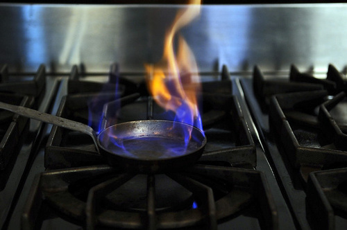 Your Best Dish You Set on Fire