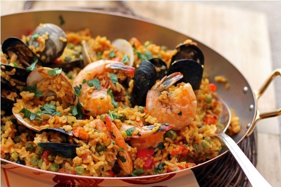 Spicy Andalusian Paella