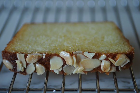 Almond Cake with Orange-Flower