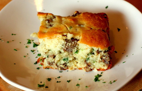 Savory Sausage Breakfast Cake