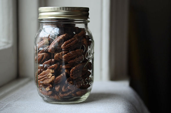 Spice-Brined Pecans