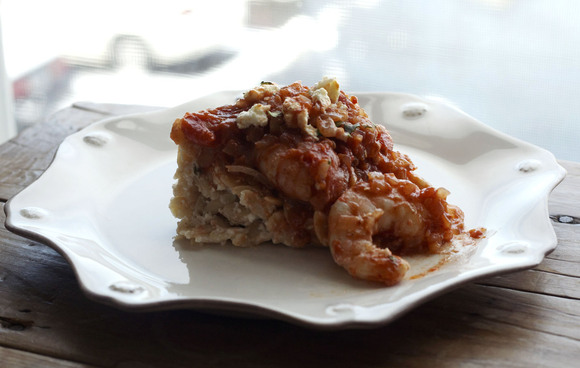 Greek Spiced Baked Shrimp &amp; Creamy Orzo