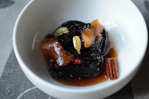pickled prunes