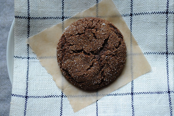ginger spice molasses cookie