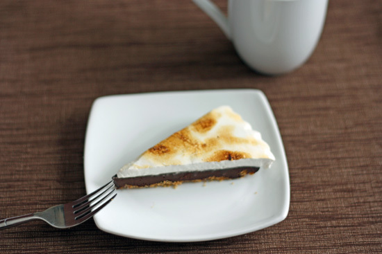 s'more tart
