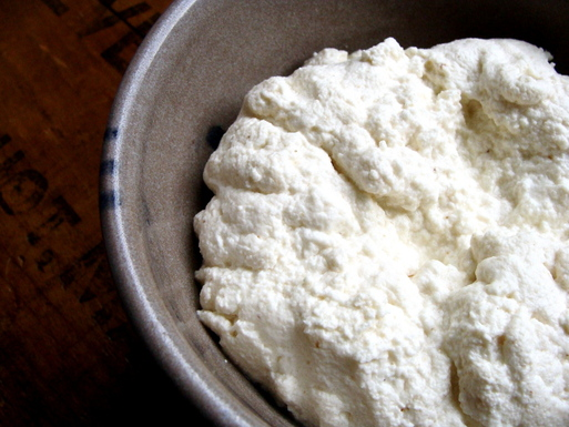 Creamy Homemade Ricotta