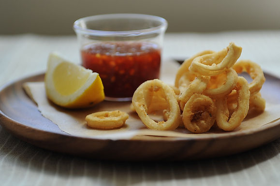 Sweet and Spicy Calamari
