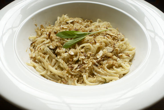Linguine with Brown Butter, Sage